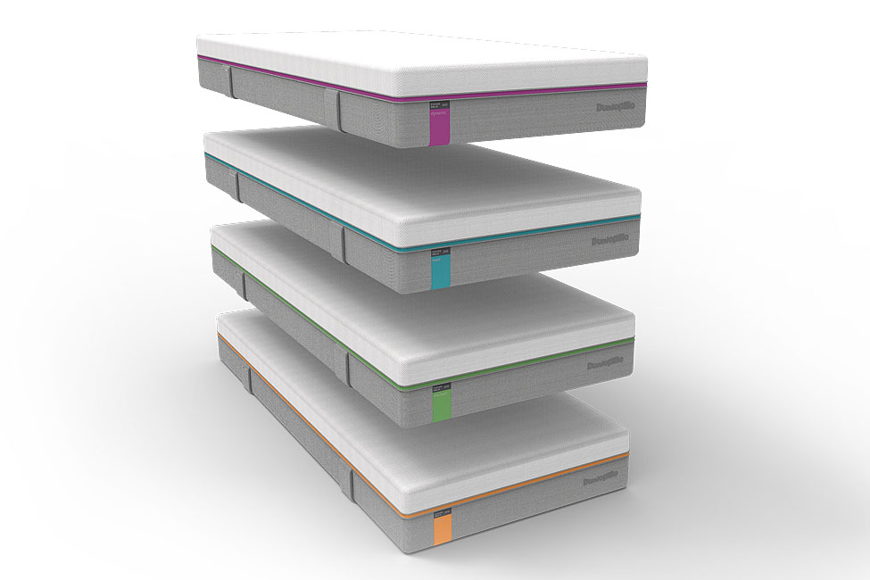 SET: Matratze Fusion Helix + Lattenrost Click & Sleep X2